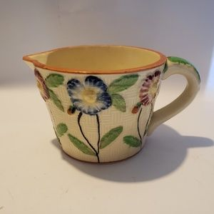 Other - Antique japan pottery Majolica Creamer/gravy